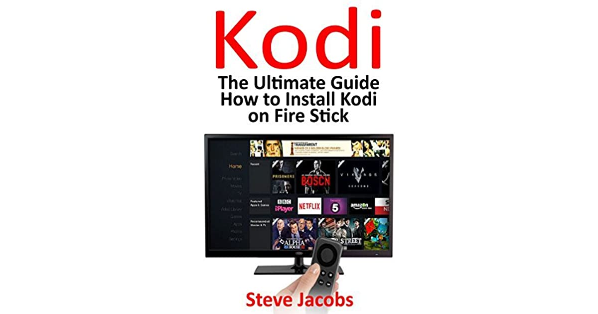 how to install kodi on firestick a step by step guide to install kodi expert amazon prime. Black Bedroom Furniture Sets. Home Design Ideas