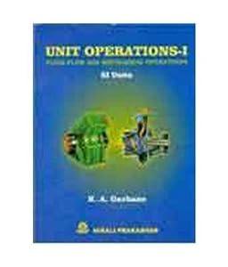 Unit Operation -1