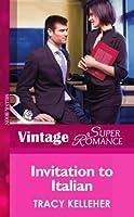 Invitation to Italian (Mills & Boon Vintage Superromance) (Make Me a Match, Book 3)