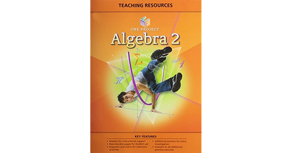 Center for Mathematics Education Project Algebra 2 Teaching