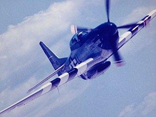 "P-51 MUSTANG AEROBATIC FLIGHT: STALLION 51 ""CRAZY HORSE"""