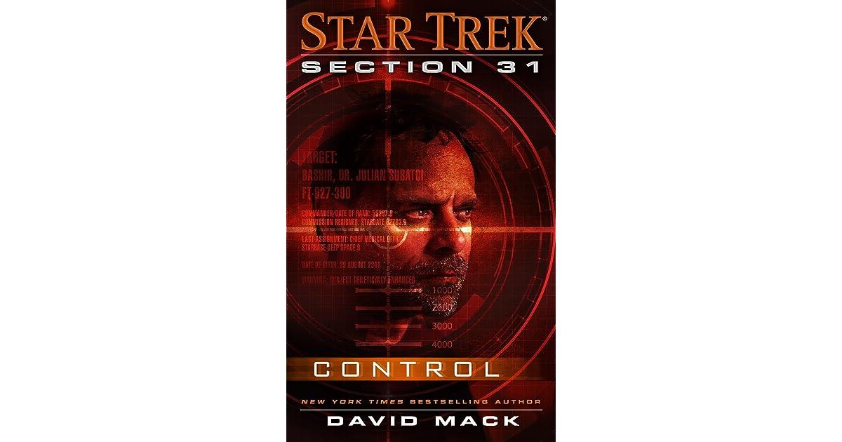 Control (Star Trek: Section 31) by David Mack