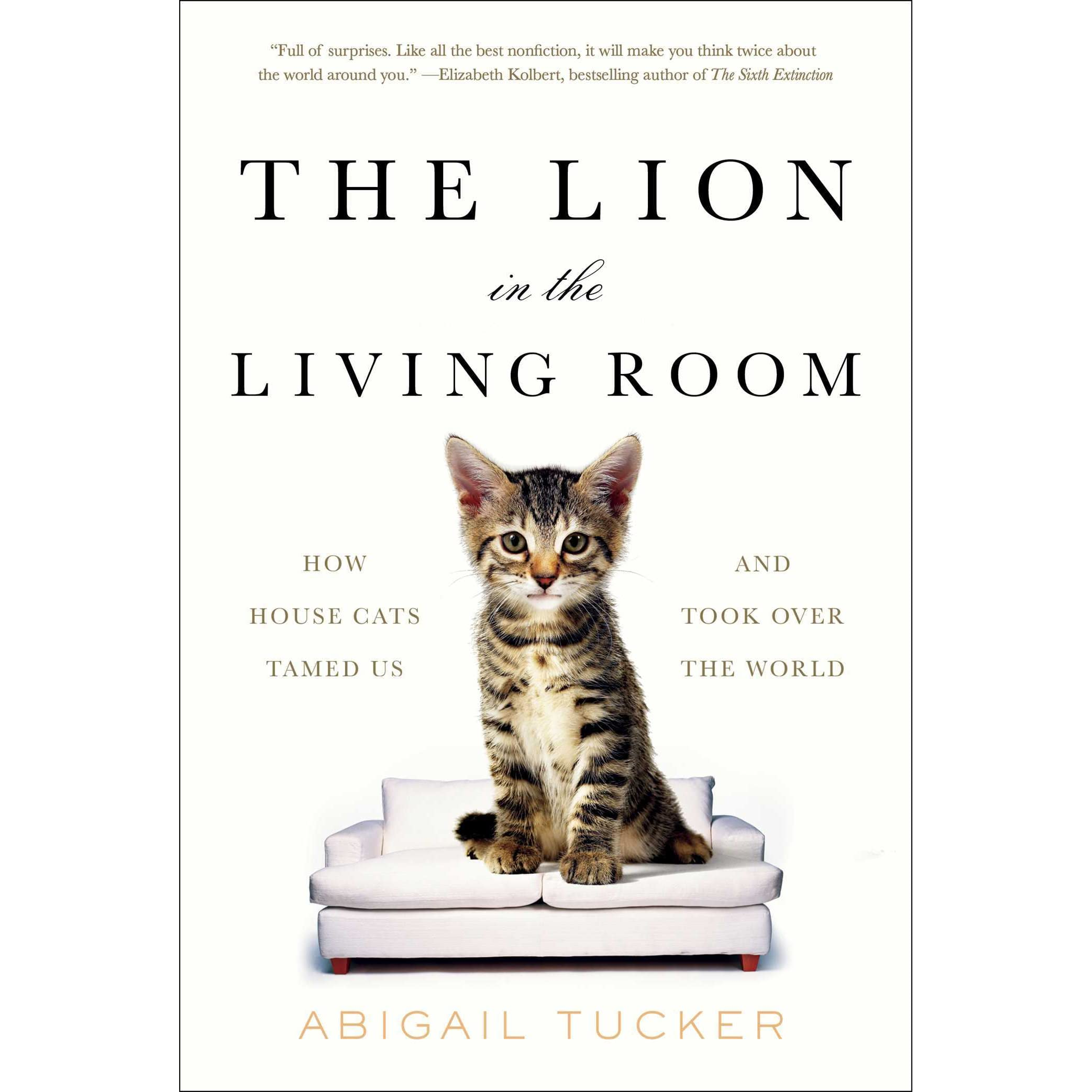 The Lion In Living Room How House Cats Tamed Us And Took Over World By Abigail Tucker