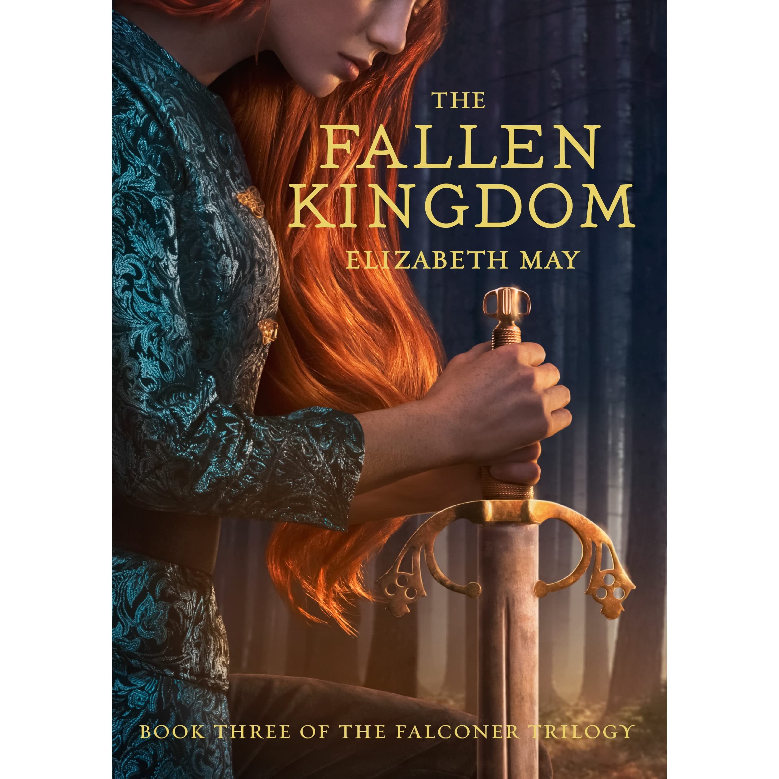 Kingdom Manga Goodreads: The Fallen Kingdom (The Falconer, #3) By Elizabeth May