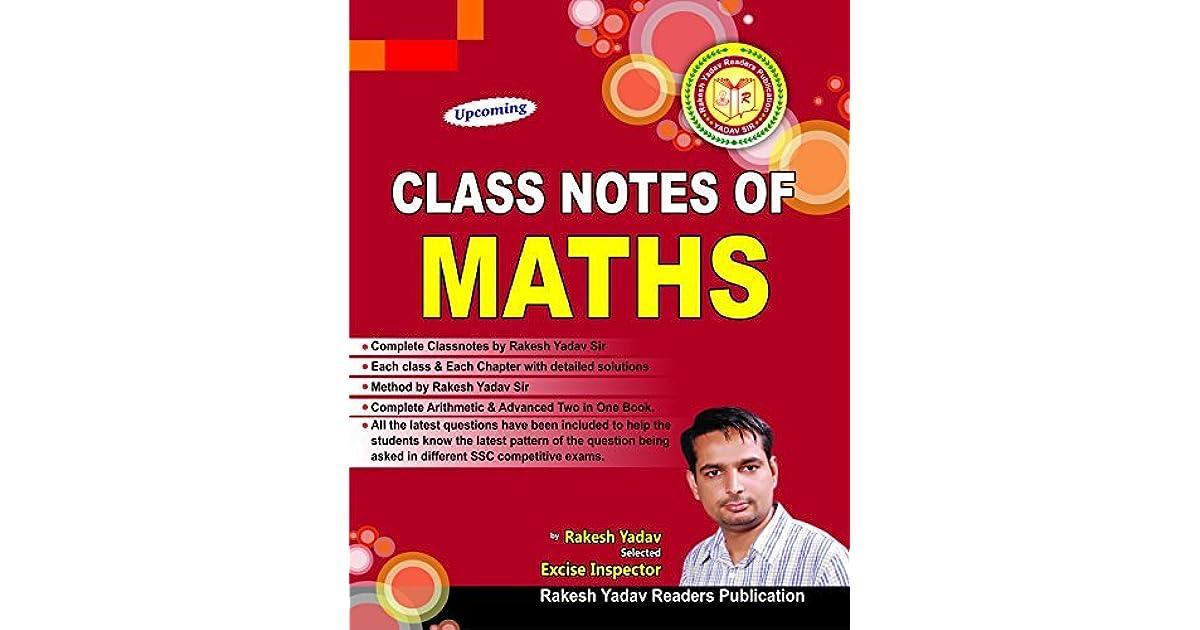 Advance Mathematics By Rakesh Yadav by Rakesh Yadav