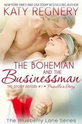 The Bohemian and the Businessman (The Story Sisters, #1; Blueberry Lane, #15)