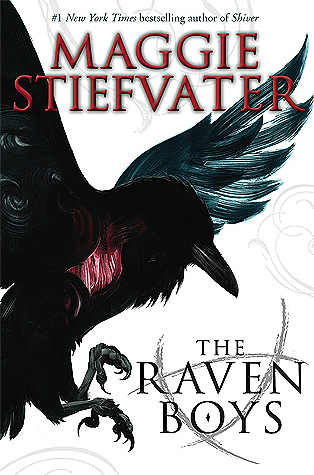 The Raven Boys cover (link to Goodreads)