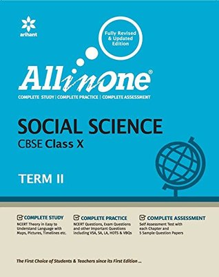 All In One Social Science Class 10 Term 2: CBSE