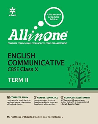All in One English Communicative CBSE Class 10 Term-II by