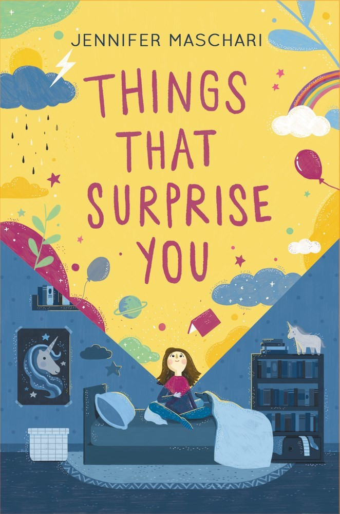 Children Book Cover : Things that surprise you by jennifer maschari — reviews