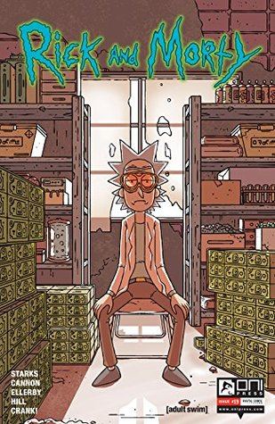 Rick and Morty #19 by Kyle Starks