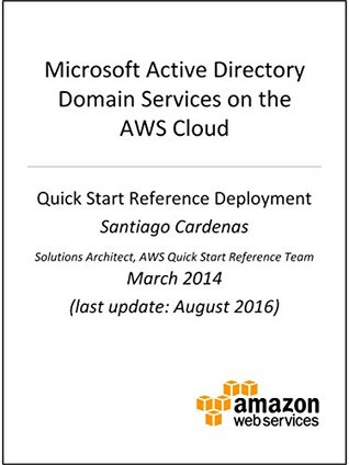 Active Directory DS on AWS by AWS Whitepapers