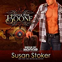 Justice for Boone (Badge of Honor: Texas Heroes #6)