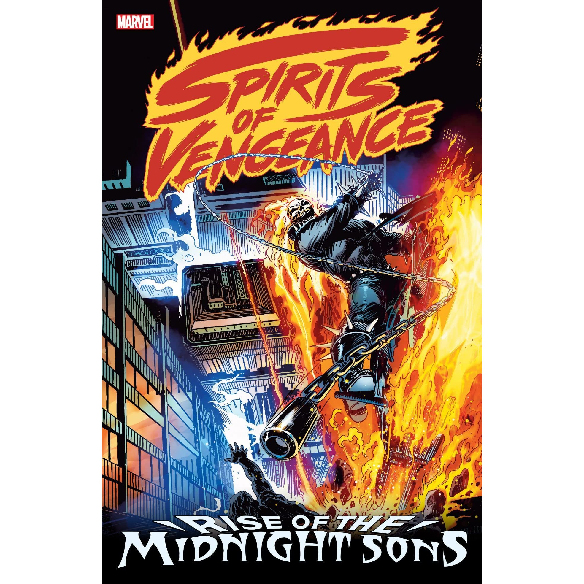 Spirits Of Vengeance Rise The Midnight Sons By Howard Mackie