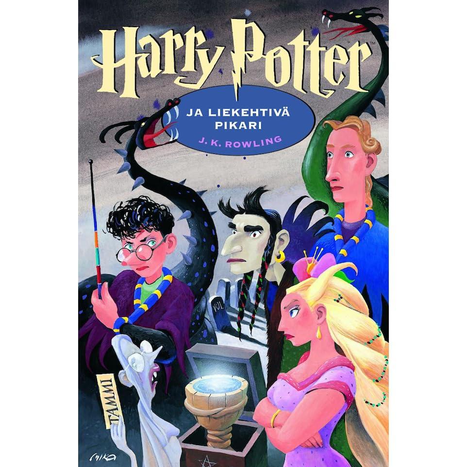 Harry Potter Book Goodreads : Harry potter ja liekehtivä pikari by j