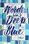 Book cover for Words in Deep Blue