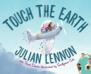 Touch the Earth cover art with link to Goodreads page