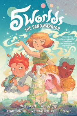 The Sand Warrior (5 Worlds, #1)