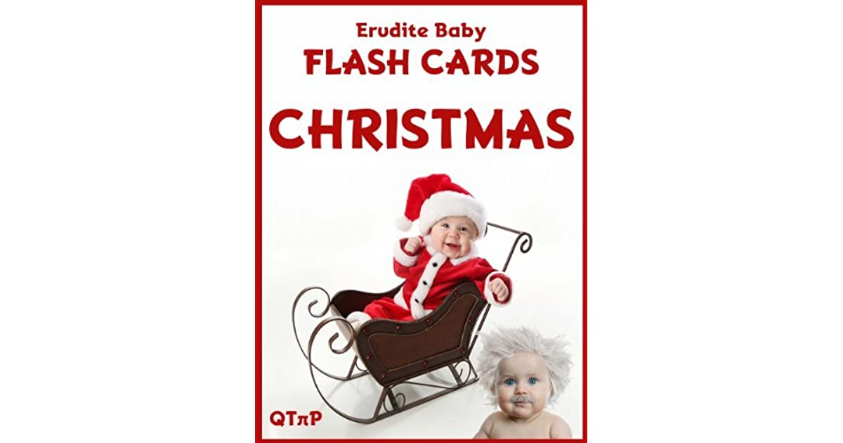 Erudite Baby Flash Cards: Christmas