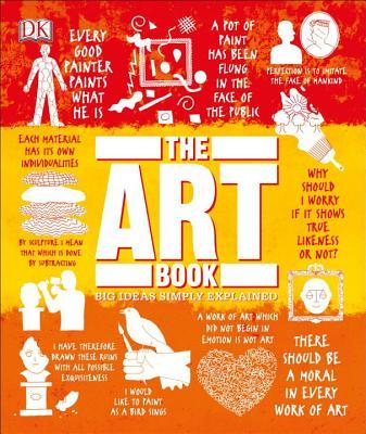 The Art Book Big Ideas Simply Explained by D.K. Publishing