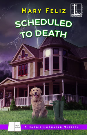 Scheduled to Death (A Maggie McDonald Mystery, #2)