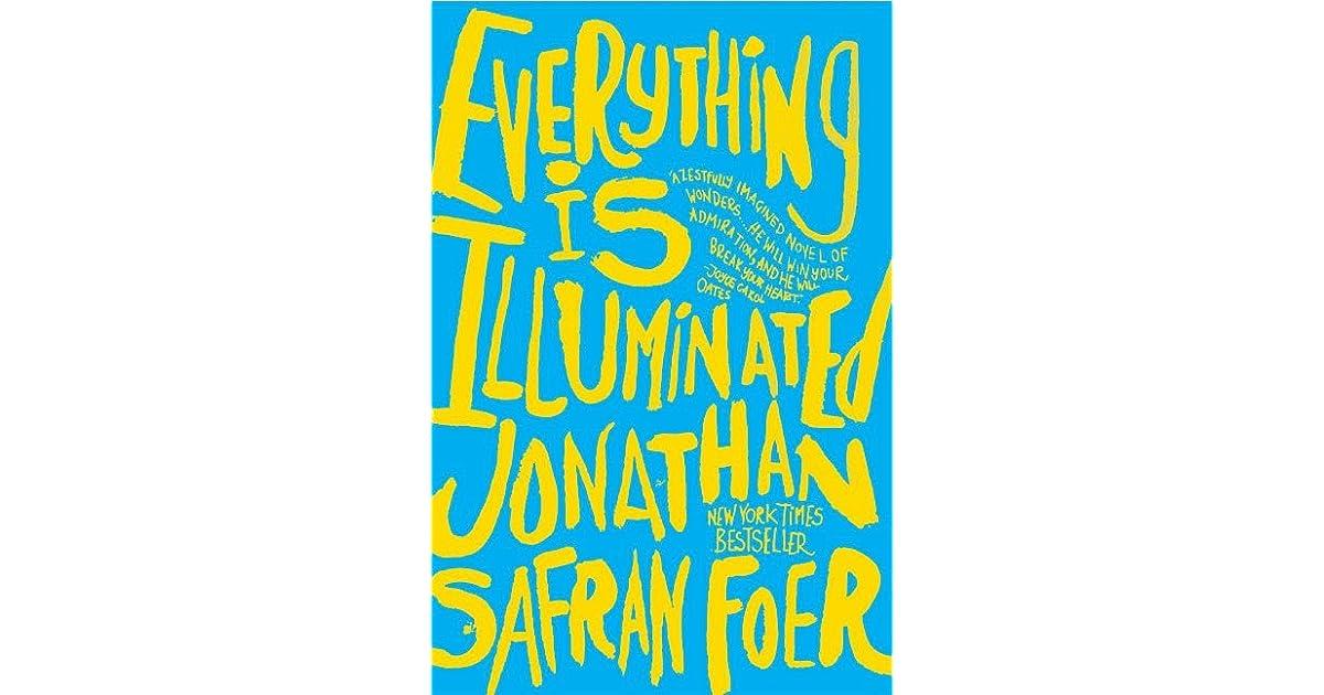 everything is illuminated novel vs book