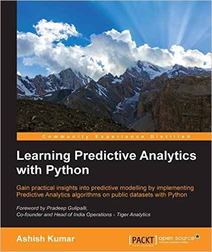 Learning Predictive Analytics with Python - Ashish Kumar