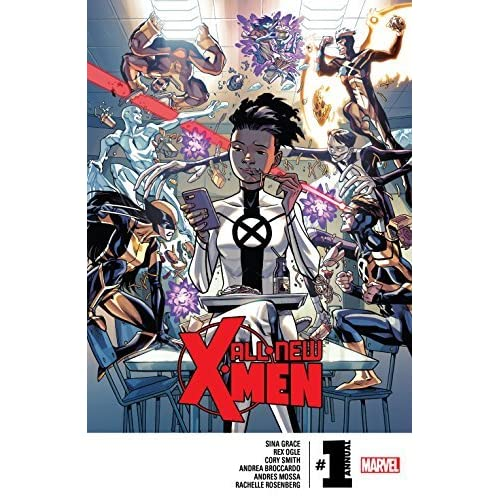 All New X Men Annual 1 By Sina Grace