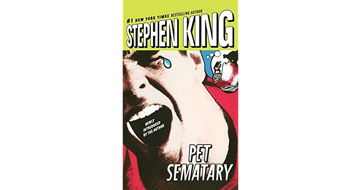 a0f870fa80c Pet Sematary by Stephen King