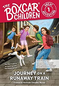 Journey on a Runaway Train (The Boxcar Children Great Adventure #1)