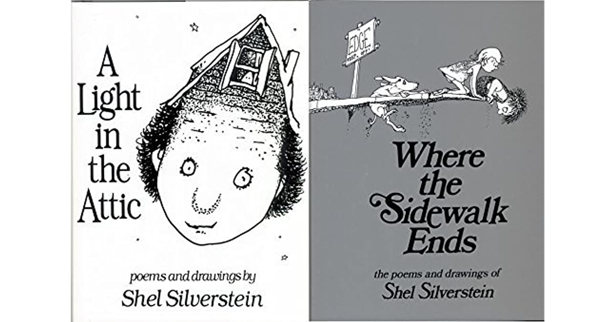 Shel Silverstein Biography: Shel Silverstein Pack 2 Book Set: Where The Sidewalk Ends