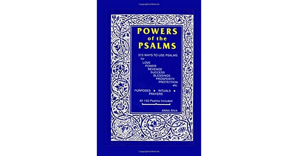 Nicole (West Palm Beach, FL)'s review of Powers of the Psalms