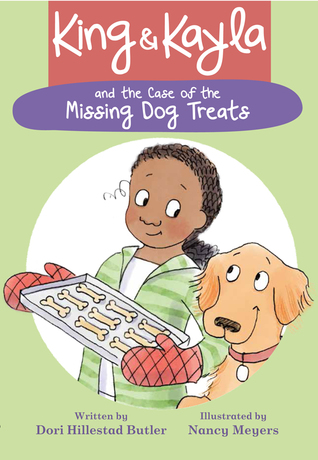 King and Kayla and the case of the missing dog treats cover art