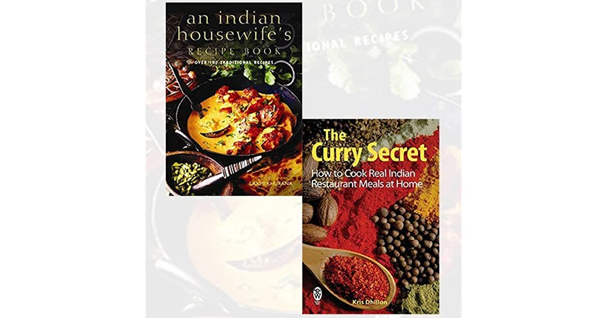 Indian Cookbook 2 Books Bundle Collection by Laxmi Khurana