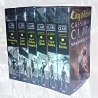 Cassandra Clare The Mortal Instruments 6 Books Bundle Collection (City of Bones, City of Ashes, City Glass, City of Lost Soul, City of Fallen Angels, City of Heavenly Fire)