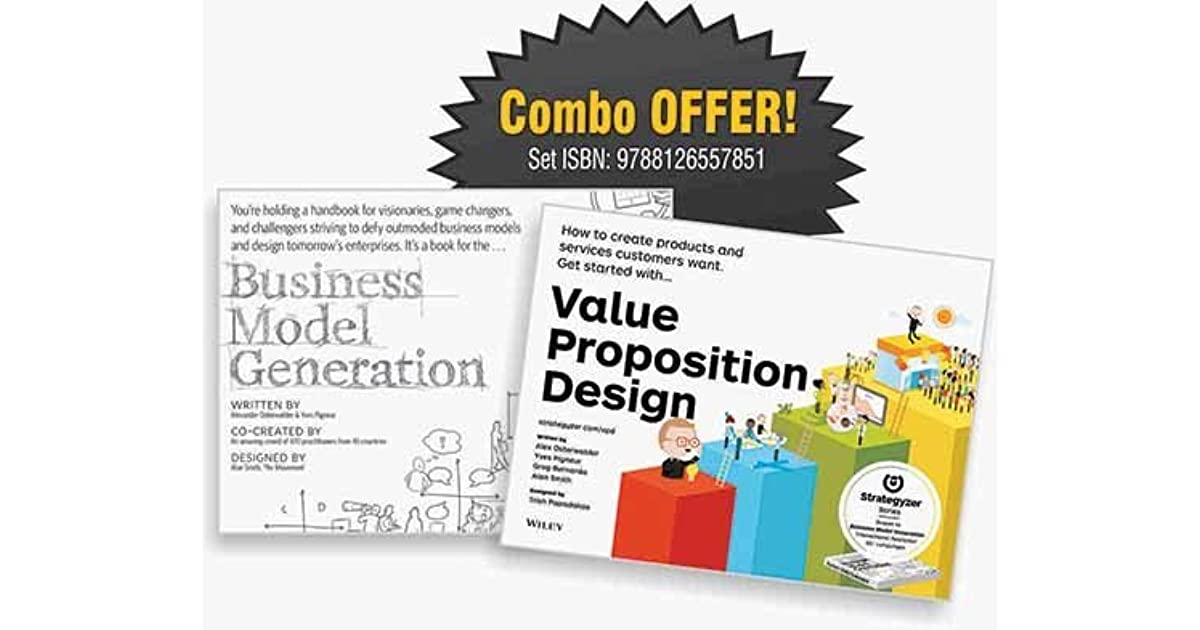Business Model Generation Book Cover : Business model generation value proposition design by