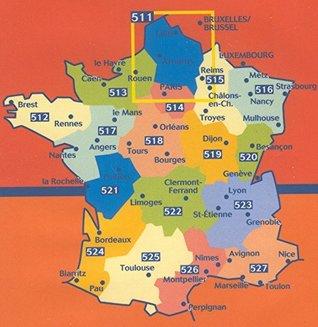 Michelin Map France Regional : Rhone-Alpes Map 523 ; tear-resistant ; 1/200 000