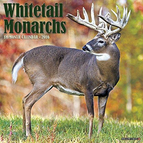 2016 Whitetail Monarchs Wall Calendar  by  NOT A BOOK