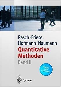 Quantitative Methoden 2. Statistik-Begleitheft. 2. Semester