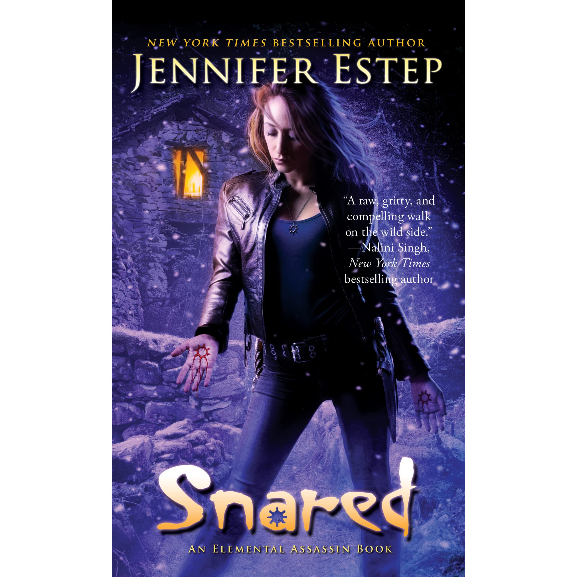 Snared (elemental Assassin, #16) By Jennifer Estep €� Reviews, Discussion,  Bookclubs, Lists