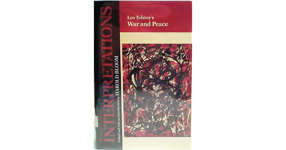 war and peace by leo tolstoy essay War and peace began as a domestic chronicle leo tolstoy with his wife a 35-page essay in which tolstoy returns again to the animating theme of his great work.