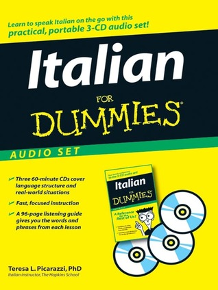 Italian For Dummies Audio Set With Italian For Dummies Reference