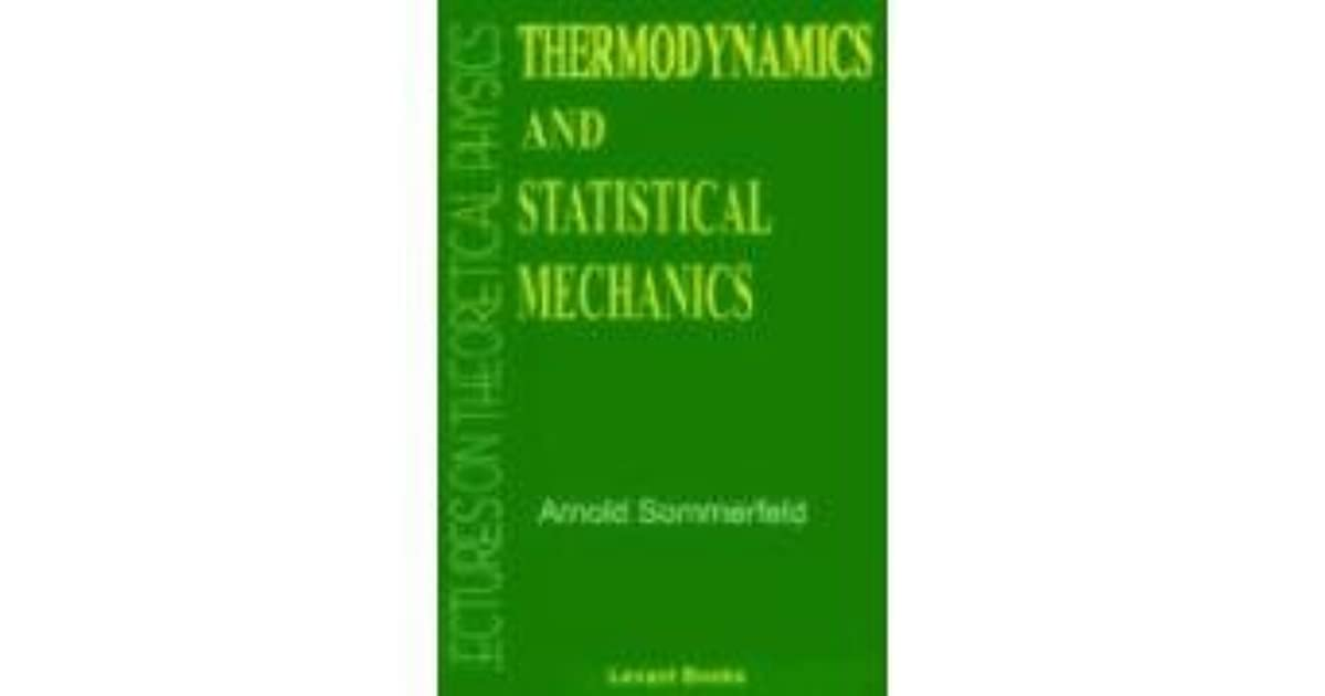 Sommerfeld Lectures On Theoretical Physics Ebook