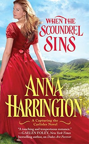 When the Scoundrel Sins by Anna Harrington