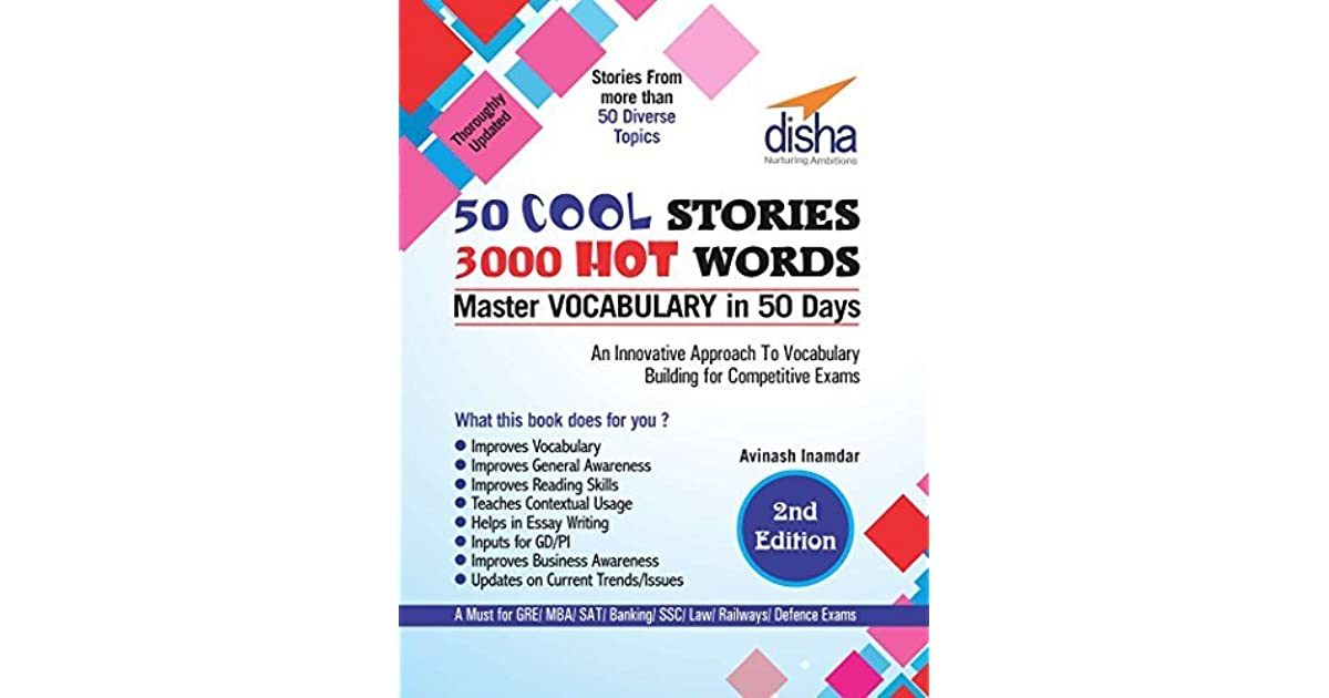 50 COOL STORIES 3000 HOT WORDS (Master VOCABULARY in 50 days) for