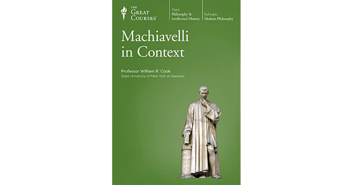machiavelli eassy Essays and criticism on niccolò machiavelli - critical essays.