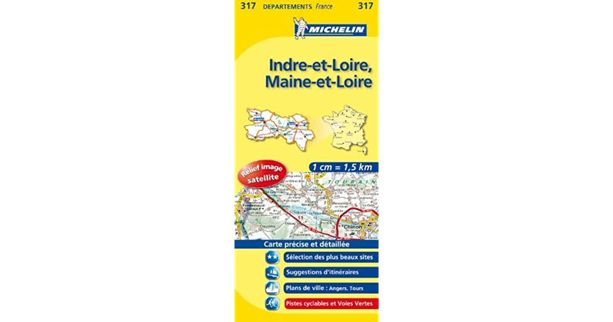 Indre Loire Maine 11317 Carte Local France
