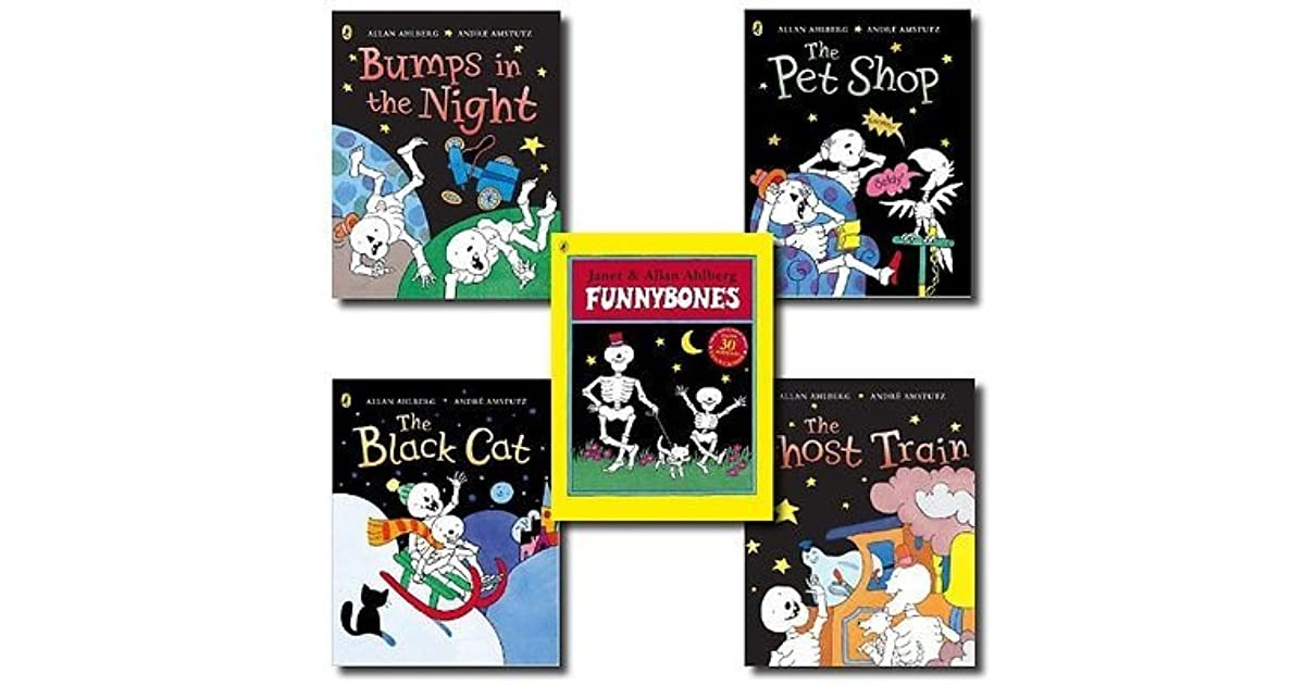 Funny Bones 5 Books Set Collection By Janet And Allan Ahlberg By