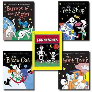 Funny Bones 5 Books Set Collection By Janet and Allan Ahlberg