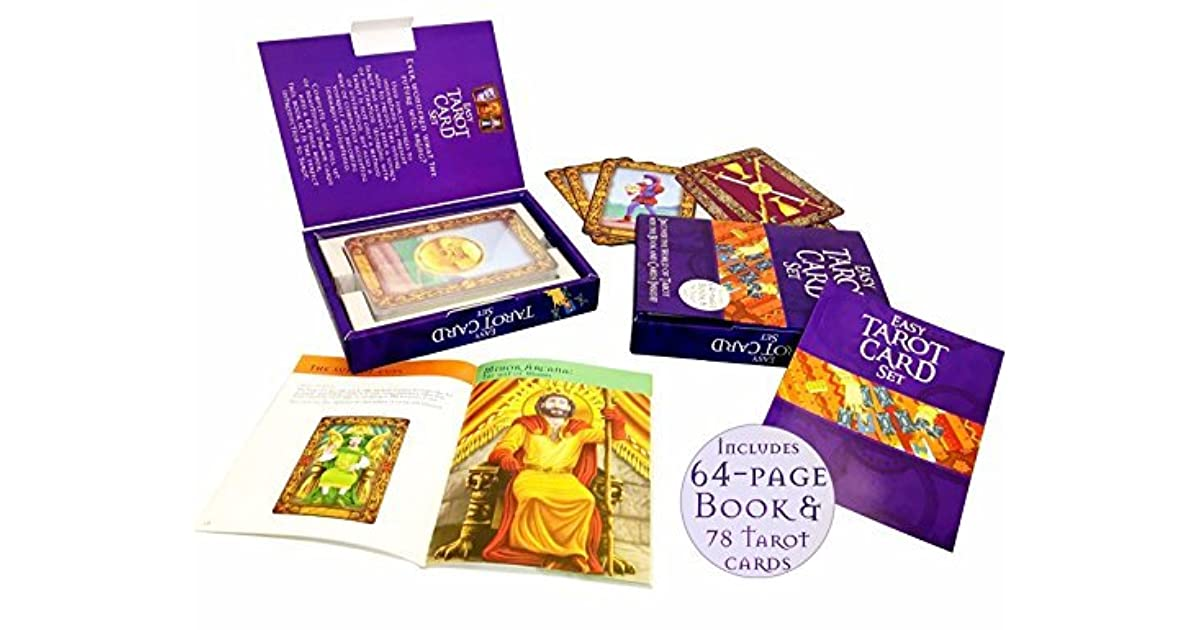 The Easy Tarot Kit: 64 page book and 78 cards deck set (box